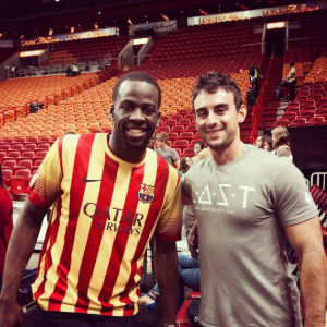 Draymond Green with Darren Heitner